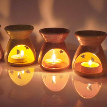 New Arrival,ceramic oil burners + candle aromatherapy scent candle essential gift, home decor ,Free shipping.