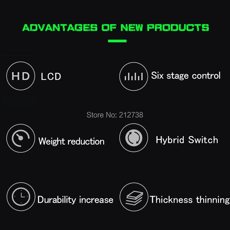 Nouvelle Mini alimentation électrique professionnelle de tatouage d'aurora II LCD avec l'adaptateur de puissance pour des Machines de tatouage de bobine et rotatives - 5