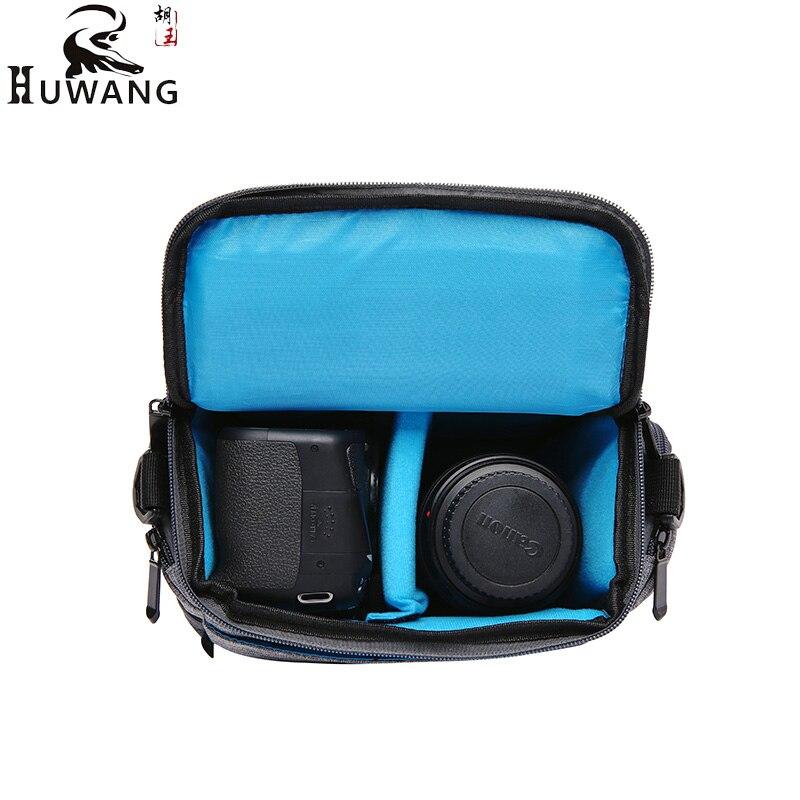 HUWANG Digital Camera Bag photo Case For Fujifilm X-T20 X-T10 X-T2 X-T1 X-E3 X-E2 X-E1 X-A10 X-A5 X-A3 X-A2 Foto Shoulder Bag