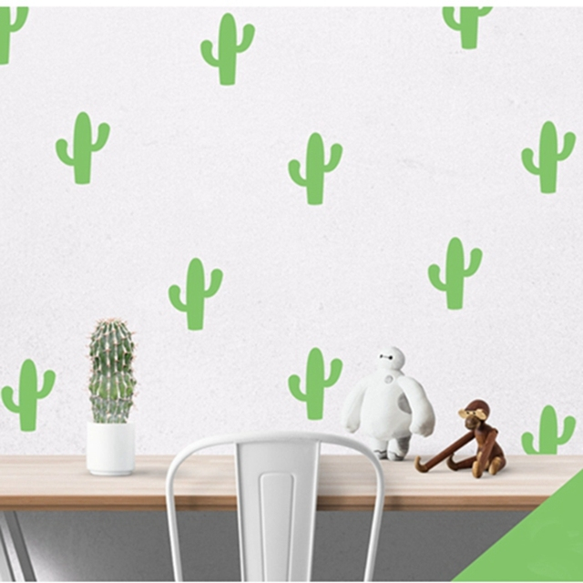 Little Cactus Wall Stickers