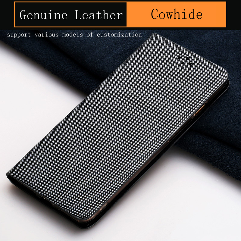 Luxury Flip Phone Case For Samsung Galaxy S7 S8 S9 Plus case Business Diamond Texture For Note 8 9 A5 A7 A8 J5 J7 2018 Cover
