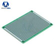 Double TWO Side 5x7 5 x 7 cm Prototype Universal FR-4 Glass Fiber PCB Board