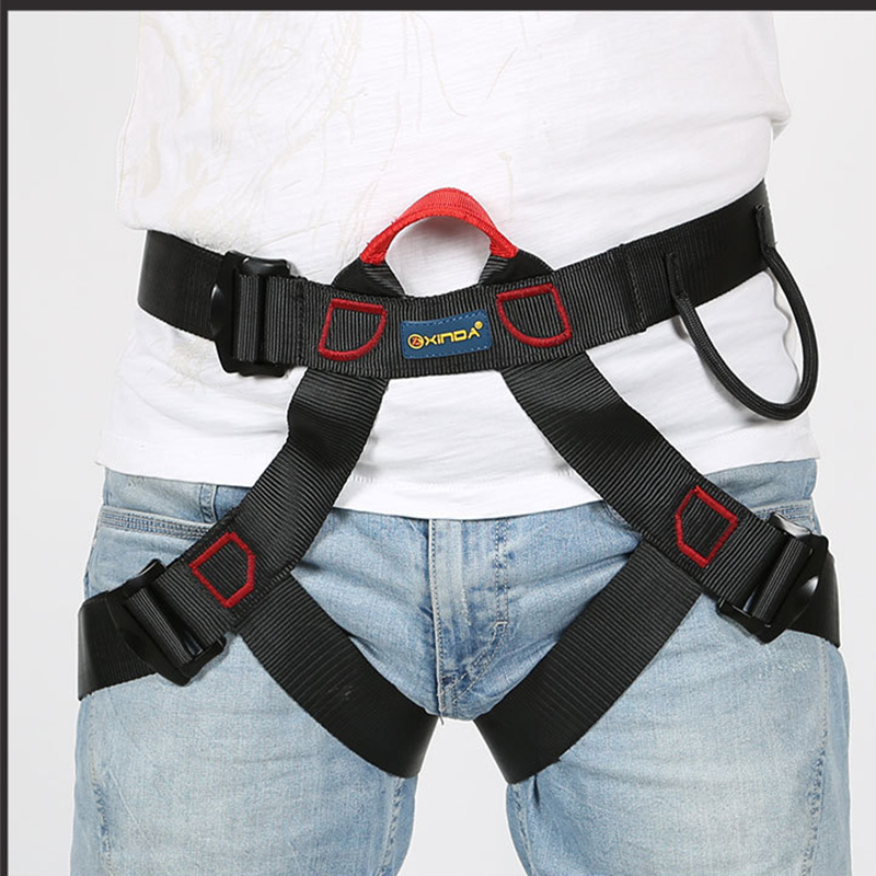 Outdoor Sport High Quality Safety Belt Hiking Belts Safety Harness For  Mountaineering And Climbing Harness