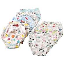 Happyflute 6 слоев хлопчатобумажной ткани подгузник 9-17 кг дышащие многоразовые Abdl детские штаны Спортивное нижнее белье унисекс подгузник