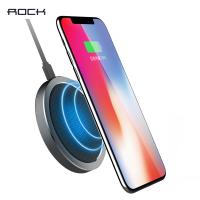 ROCK W4 Fast Wireless Charger For Samsung Galaxy Note 8 S8 S7 Edge High Quality Wireless