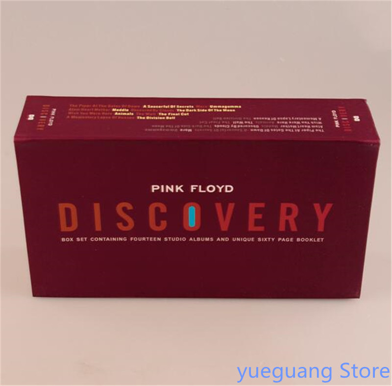 Free Shipping: New Pink Floyd Discovery 16 CD Exquisite Set Seal cd диск pink floyd wish you were here immersion box set 5 cd