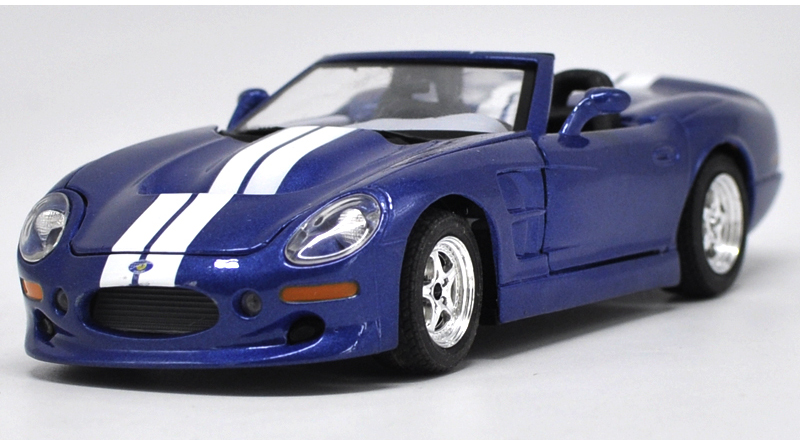 * Blue 1:24 1999 Shelby Series One Roaster Diecast Model Car Muscle Car Modell carnival is detonated the gt 500 shelby cobra muscle car jada 1 18 simulation models