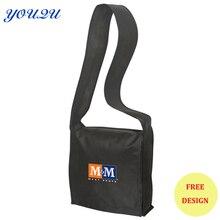 Индивидуальные нетканые школьные сумки, школьные сумки через плечо с печатью логотипа