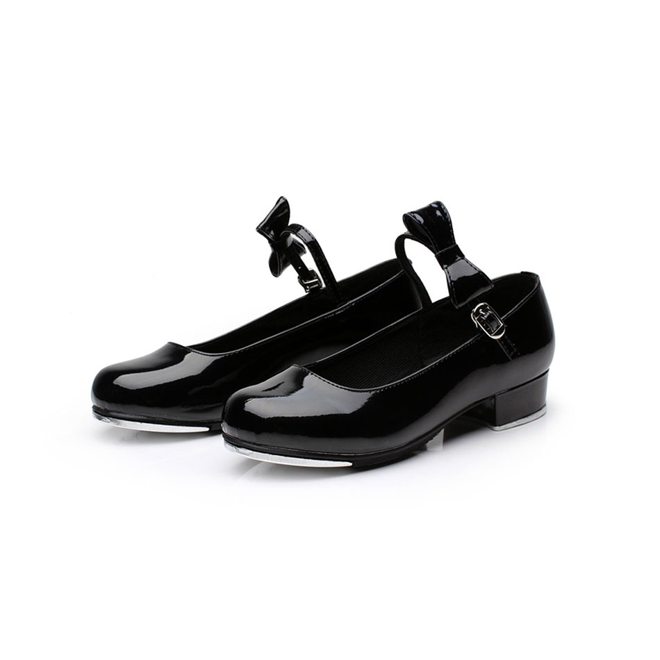 MSMAX YZ-02 Children Shoes Girls Black Patent Leather Tap Shoes Professional Hasp Square Heel Soft Breathe Freely Tap Shoes MSMAX YZ-02 Children Shoes Girls Black Patent Leather Tap Shoes Professional Hasp Square Heel Soft Breathe Freely Tap Shoes