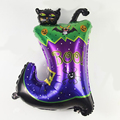 Large 73*54CM Halloween Boots BalLs Colorful Party Decoration Foil Inflatable Air Toys For Halloween Decoration Gift