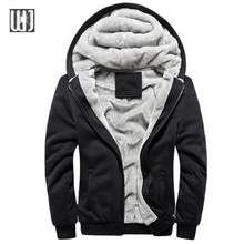 2016 New Fashion Winter&Autumn Men's Brand Hoodies Sweatshirts Casual Male Hooded Jackets And Coats Fleece Tracksuit Men