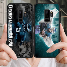 Yinuoda Phone Case For Philadelphia Eagles Samsung Galaxy Note4 5 9 A7 A8 A9 Soft TPU Cover Carson Wentz J2Pro J4 J6J7 Note5