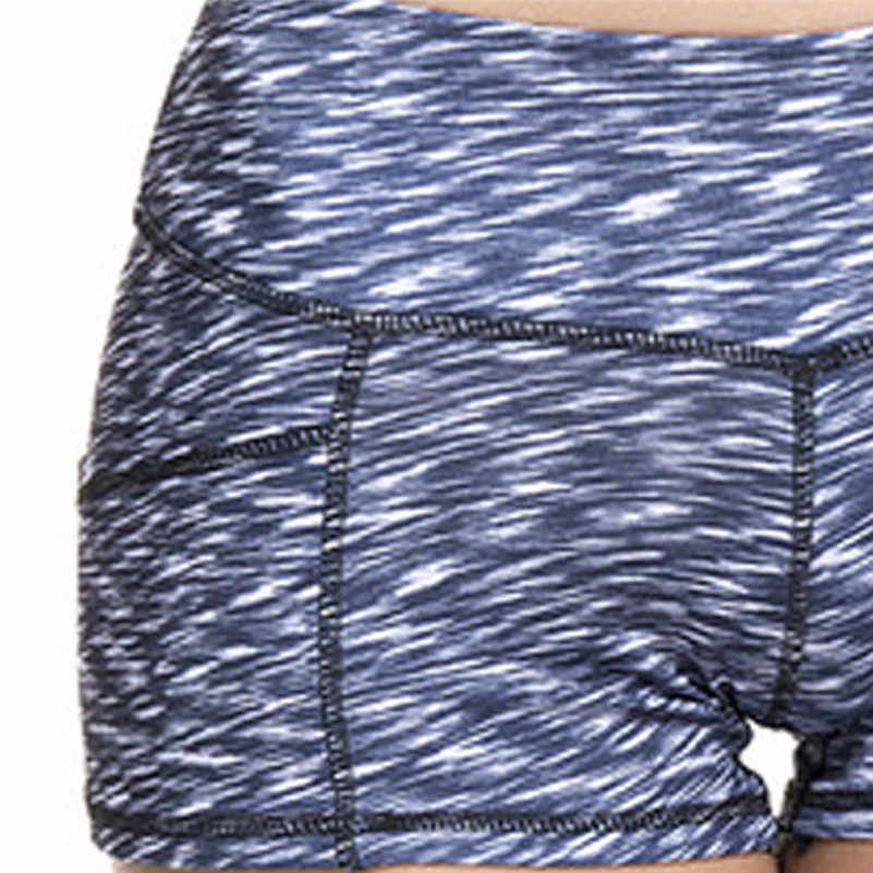 High Waist Elasticity Yoga Shorts Sport Leggings Workout Out Pocket Leggings Fitness Sports Gym Running Yoga Athletic Shorts 4as
