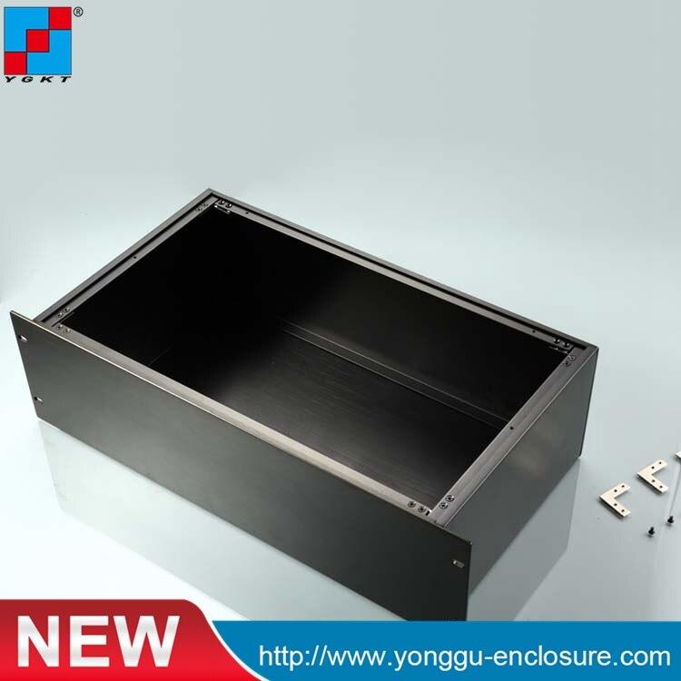 19 pouce 3u 250 Profonde aluminium Pleine amplificateur de Puissance châssis/AMP boîte cas de Châssis/casque boîte de amp PSU DIY