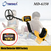 MD 6350 Pinpointer LCD Display Deep Underground Metal Detector Gold Digger Treasure Hunter Professional Detecting Equipment