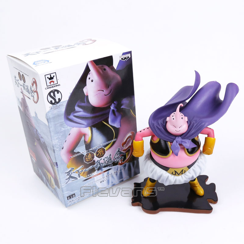 Dragon Ball Z SCultures BIG Banpresto Figure Colosseum 3 Vol.2 Majin Buu PVC Action Figure Collectible Model Toy 14cm