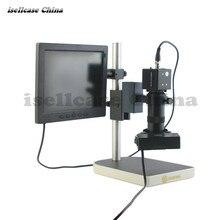Buy Welding preferred High definition electron microscope LED light source digital microscope electron microscope For iphone Repair
