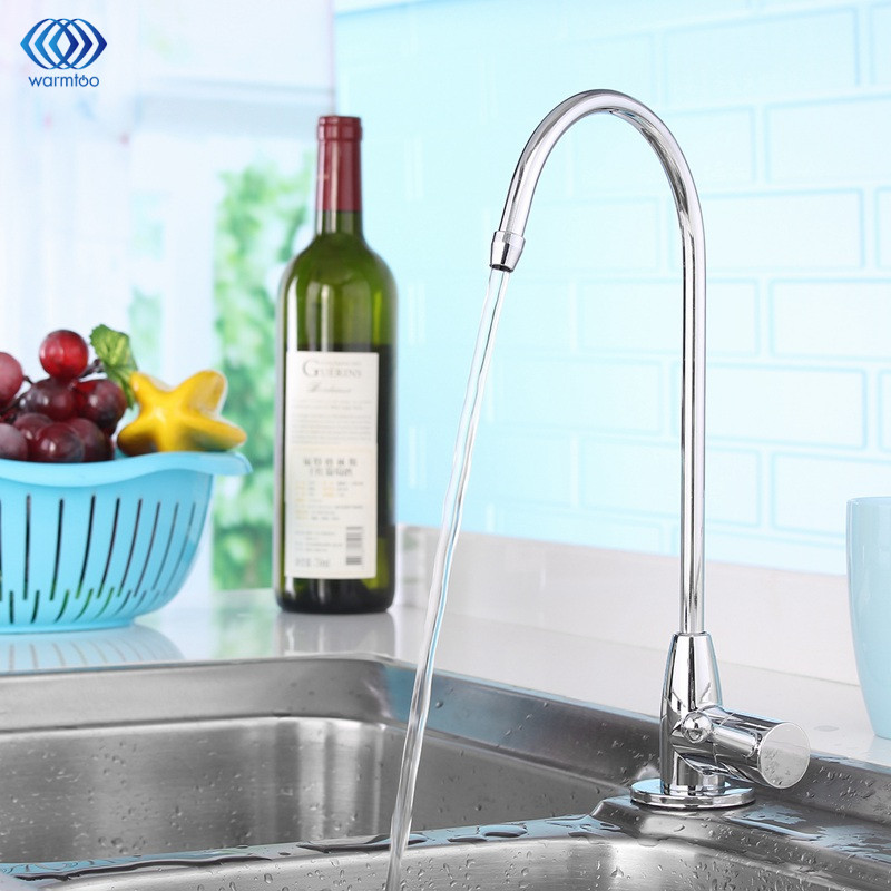 Kitchen Faucet Stainless Steel Plating Water Filter tap Water Purifier Drinking Water 1/4 inch Water Treatment Parts Household kitchen faucet stainless steel plating water filter tap water purifier drinking water 1 4 inch water treatment parts household
