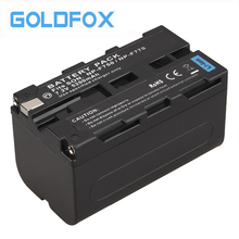 1pc High Capacity 5200mAh NP-F770 NP-F750 NP F770 np f750 NPF770 750 Battery for Sony NP-F770 NP-F750 F960 F970 Camera Battery