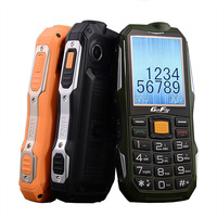 GOFLY F7000 Russian Arabic Shockproof SOS flashlight 6800mAh Battery Long Standby Power Bank Mobile Phone torch FM cell P069