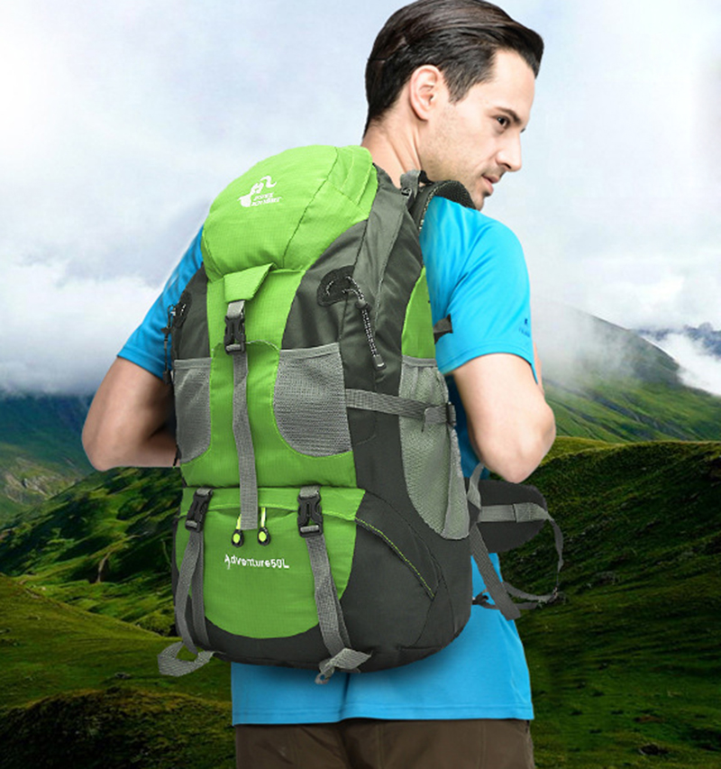 FREEKNIGHT 50L Outdoor Backpack Camping Bag WaterProof Mountaineering Hiking Backpacks Molle Sport Bag Climbing Rucksack 40l outdoor tactical backpack camping bag waterproof mountaineering hiking backpacks molle sport bag climbing rucksack