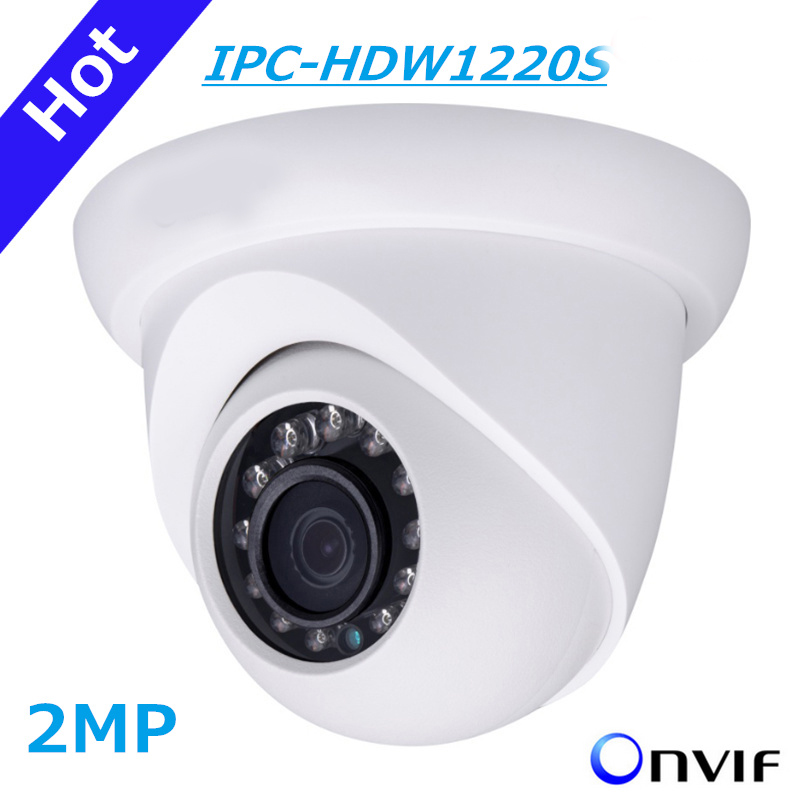 DH IP Camera IPC-HDW1220S 2MP Full HD Network Small IR Eyeball Camera HDW1220S IP67 Support POE and Onvif English version stepper drive 2 phase 1 5a 20 50vdc matching 57mm nema23 86mm nema34 motor dm542 500 leadshine