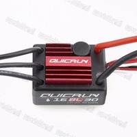 1pcs Hobbywing QuicRun WP 16BL30 30A Sensorless Brushless Speed Controllers ESC for 1/16 1/18 RC Cars