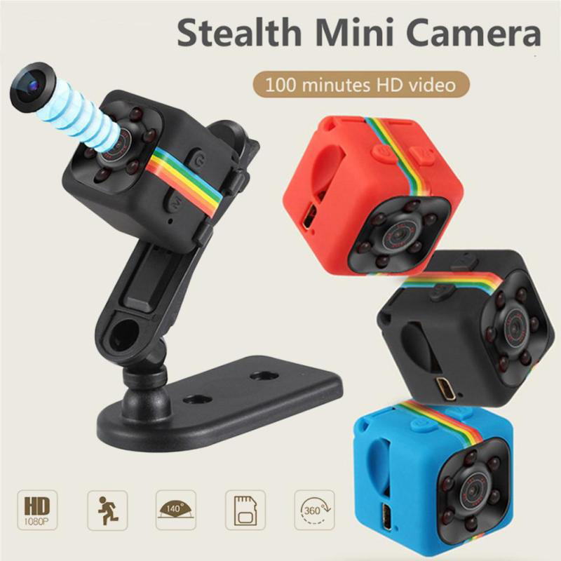 Mini Camera HD 1080P Night Vision Camcorder Car DVR Infrared Video Recorder Sport Digital Camera Support TF Card DV Camera mini dv md80 dvr video camera 720p hd dvr sport outdoors with an audio support and clip