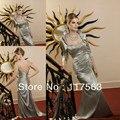 Gracioso Two Pieces longo mãe do noivo vestido da noiva com Bolero frete grátis MQ052