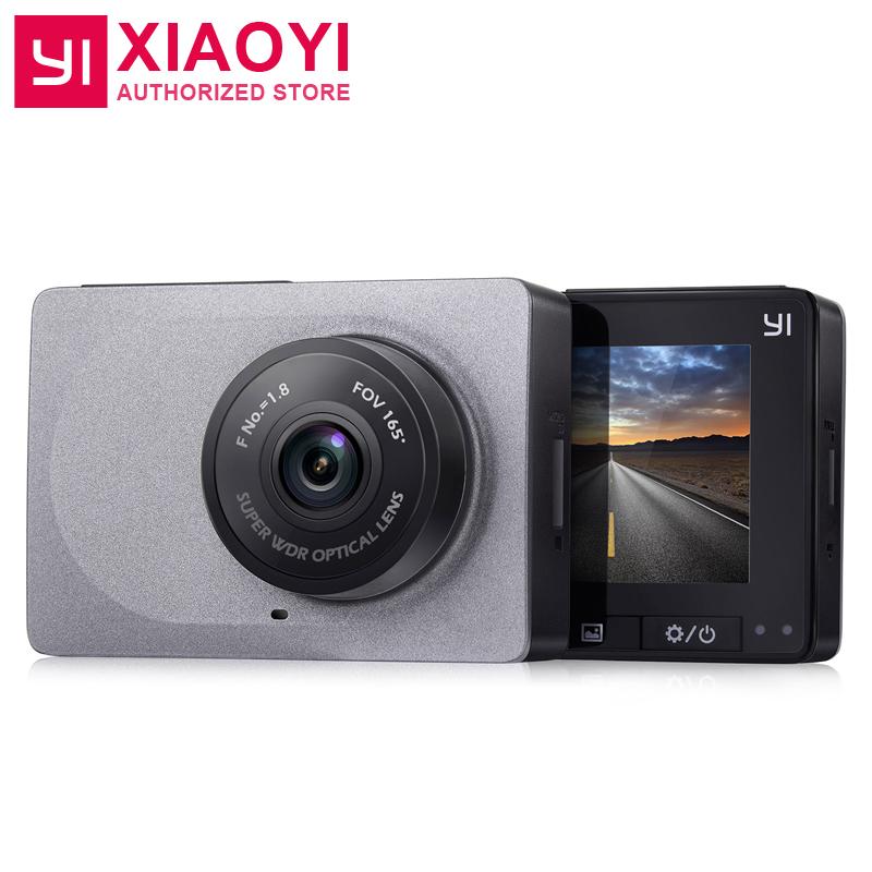 Prix pour [Édition internationale] xiaomi yi smart dash caméra 2.7 pouce voiture dvr 165 degrés 1080 p/60fps vidéo enregistreur adas wifi dashcam