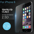 2 unids/lote 9 H dureza Premium templado Protector de pantalla para el iPhone 6 templado a prueba de explosiones película para el iPhone 6 4.7 pulgadas