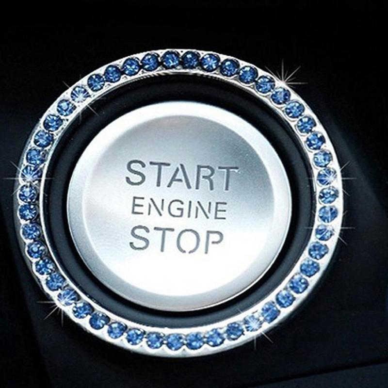 Auto di cristallo catena chiave di arresto di inizio del motore di accensione per Mazda 2 3 5 6 CX5 CX7 CX9 Atenza Axela