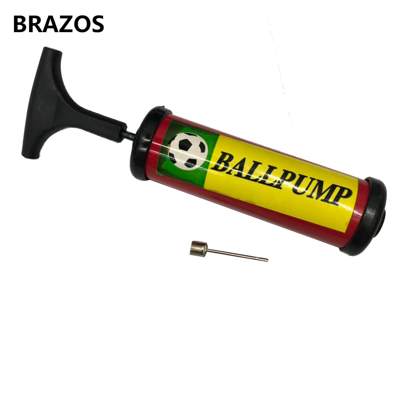 Mini Soccer Ball Pump PVC Plastic Hand Pump For Balls Inflator For Football Basketball Volleyball Ball Inflatable Air Needle