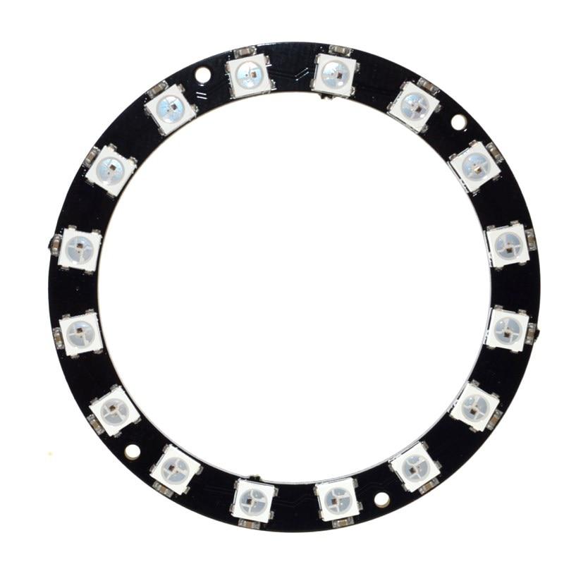 Rgb Led Ring 16 Bits Leds Ws2812 5050 Rgb Led Ring Lamp Light With