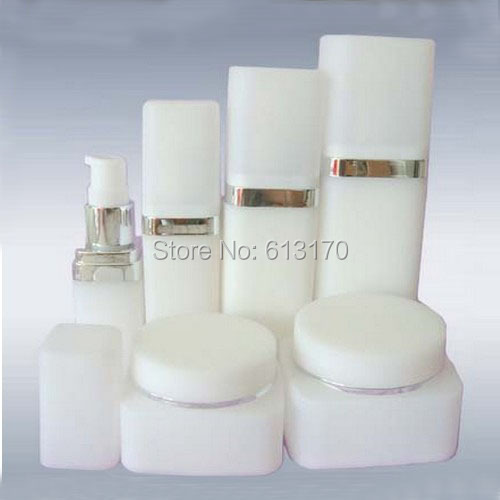 6pcs/lot Travel bottle set 15ml 30ml 30ml aftershave bottle face care press lotion bottle refillable sup-bottles free shipping