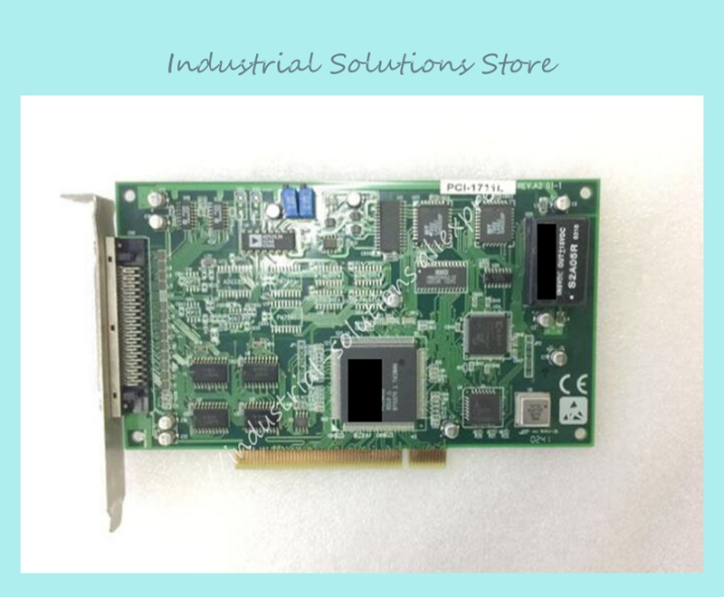 PCI-1711L REV.A2 01-1 multi-function data acquisition card spot original pci 7250 8 channel with relay i o card data acquisition card