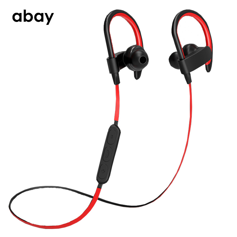 Bluetooth Wireless Waterproof IPX6 Earphone with Mic super Bass headphones Headset high fidelity Stereo Earbuds for Moblie phone 2016 new metal bluetooth stereo super bass headphones 8600 bluetooth 4 0 high fidelity wireless over ear headset for smart phone