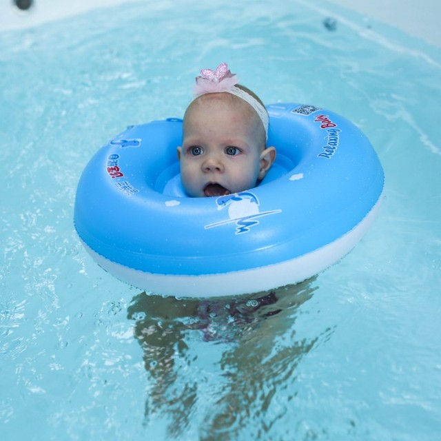 Mambo inflatable neck Float aby Swimming Neck Ring free Inflatable Infant Floating Kids Swim Pool Accessories dropshipper