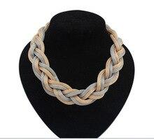 Bohemian Twist Chain necklace