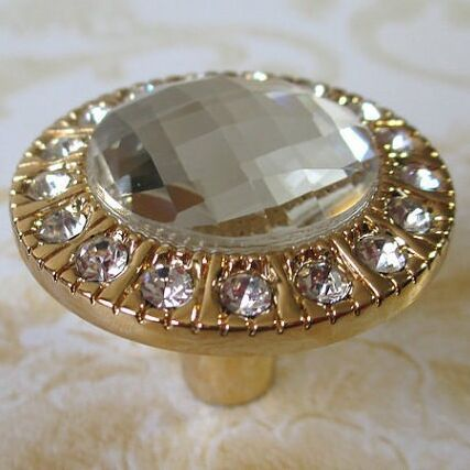 glass dresser knobs crystal drawer knobs handles sparkle clear diamond gold cabinet bling knobs furniture cheap furniture knobs