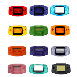 Image 1 - 12 Colors High quality replacement housing case Shell Pack Cover for Gameboy Advance for GBA Console