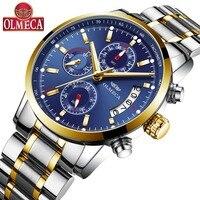 Top Luxury Brand Watches Men Best Fashion Casual Charm Luminous Sport Relogio Masculino Waterproof 30m Stainless Steel Watch