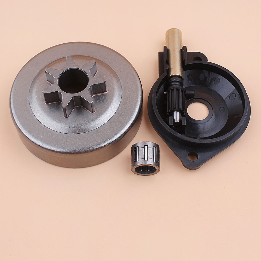""".325"""" 7T Clutch Drum Bearing Oil Pump Drive Kit For Husqvarna 240 240E 236 236E 235 235E Chainsaw Replacement Parts 581063901"""