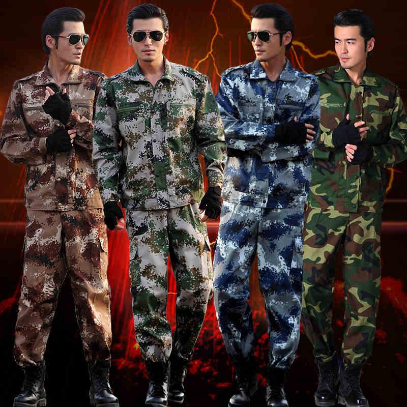 (10-top & Mutanda) Outdoor Cs Tuta Mimetica Maschio Campo Speciale Uniforme Da Combattimento Uniforme Militare Di Formazione Dei Vestiti Del Camuffamento Di Grembiule