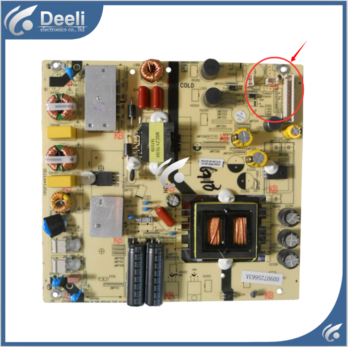 95% new original for Power Supply Board TV5502-ZC02-01 1POF248373D Board Working good система охлаждения для корпуса deepcool xfan 120l r xfan120l r