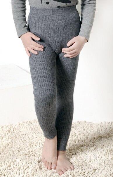 цена Free Shipping Boys Cashmere Wool Thick Winter Pants Base Layer Warm Soft Kids gift Multicolor Pants Boys Leggings for Boy онлайн в 2017 году