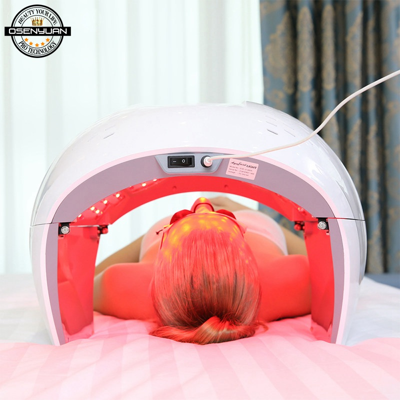 Użytku domowego PDT fotonów światła LED lampa terapeutyczna twarzy piękno ciała SPA PDT maska skóry dokręcić odmłodzenie trądzik preparat przeciwzmarszczkowy urządzenie w Urządzenia elektroniczne do pielęgnacji twarzy od AGD na AliExpress - 11.11_Double 11Singles' Day 1