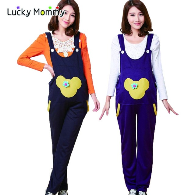 Summer Maternity Bib Overalls Pregnancy Jumpsuite Pregnant Bib Pants for Pregnant Women Maternity Clothes Pregnancy Clothing