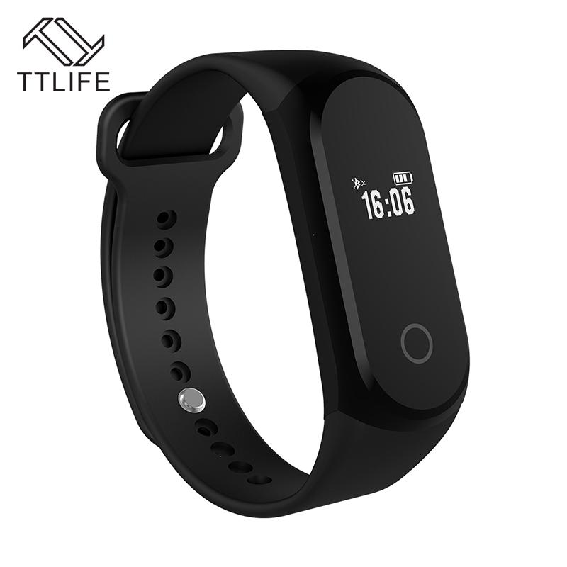 Prix pour TTLIFE Bluetooth Smart Bracelet Coeur Taux Tracker Bracelet Fitness Tracker À Distance Caméra pour Android IOS Smart Horloge