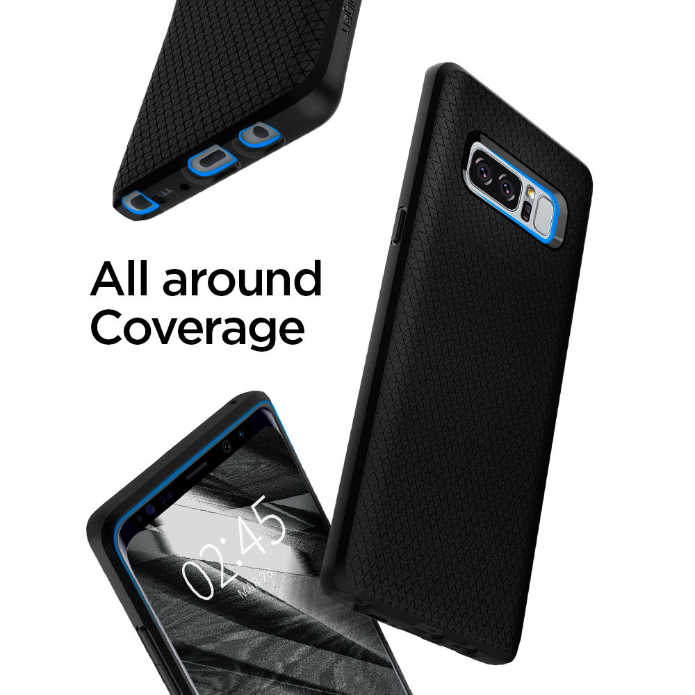 100 Original Spigen Liquid Air Armor Case For Samsung Galaxy Note 8 9 Wallet S Leather In Fitted Cases From Cellphones Telecommunications On Alibaba Group